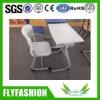 Mesa plástica e cadeira da mobília de escola ajustadas (SF-59S)