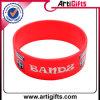 Wristband stampato del silicone di marchio di disegno