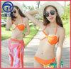 De Sexy Bikini van Swimwear van vrouwen 3PCS die in Digitale Druk wordt geplaatst