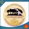 Gold de encargo 3D Erosion Souvenir Challenge Metal Coins (LN-078)