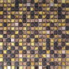 Mosaïque en verre d'or d'art pour le matériau de construction (VMW3308)