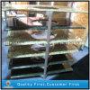 Brames artificielles de pierre de quartz/partie supérieure du comptoir en pierre de quartz pour Kitchentop
