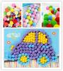 sortierte AcrylPompoms 1 für Fertigkeiten und Liebhaberei-Zubehör