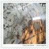 Granito del Fox de plata de la nieve para el azulejo de la encimera o de la pared