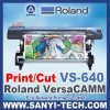 Roland Versacamm Vs-640I Inkjet Printer, Cutting e Printing Machine