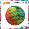 Pvc Colorful Inflatable Printing Ball voor Toy van Children (KH6-83)