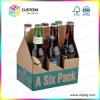 Sechs Satz-Bier-Träger-Bier-Kasten-Karton
