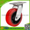 Industrielle Schwenker-Polyurethan-Rad-Fußrolle