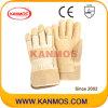 Желтые 11 Свинья зерна кожаные перчатки работы промышленная безопасность (22005)