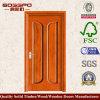 MDFの内部の純木のドア(XS6-001)