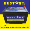 Mantenance sigillato Free Calcium Car Battery 80ah 12V Inizio Battery 95D31r-Mf