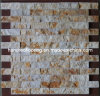 Mattonelle di mosaico di pietra di superficie naturali (HSM102)