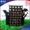 Support acrylique noir de rouge à lievres avec le stand de balai