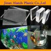 folhas acrílicas grossas transparentes de 30-150mm para aquários