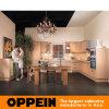 Armários de cozinha da madeira contínua do sussurro do outono de Oppein (OP08-L06)