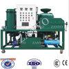 Sistema da purificação do óleo lubrificante do vácuo