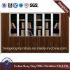 新しいデザイン木の記憶の本棚のファイルキャビネット(HX-4FL026)