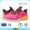 熱い販売の在庫のLycra上部様式の女性のスポーツの靴