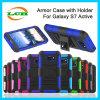 Творческий противоударный случай с держателем телефона для Active Samsung S7