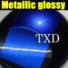 Autoadesivo lucido metallico blu del corpo di automobile di alta qualità
