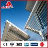 Pannelli compositi di alluminio dei materiali decorativi esterni della costruzione di edifici