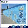 Lona da película do PVC da cerca da bandeira do engranzamento do PVC (1000X1000 18X9 370g)