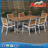 Teakholz Wood Garten Dining Set, Restaurant Dining Table und Chair Teak Furniture