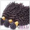 Black WomenのためのねじれたCurly 100%年のUnprocessedインドのRemy Hair
