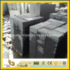 Hainan Black Basalt Flamed Tile for Paving Garden or Plaza