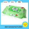 Wipe molhado do produto do OEM de China para a limpeza dos bolos do bebê (BW019)