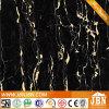 De super Zwarte Volledige Opgepoetste Verglaasde Tegel van de Vloer van het Porselein (JM6626)