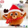 Het ronde Stuk speelgoed van de Baby van de Gift van Huggable van Kerstmis van Amerikaanse elanden Zachte Pluche Gevulde