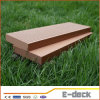 Decking al aire libre plástico de madera amistoso impermeable del compuesto WPC de Eco