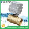 1 '' Ce approvato motorizzato ottone della valvola a sfera dell'acqua di 2 modi, RoHS