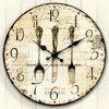Reloj vendedor caliente del MDF para la decoración (T9547C)