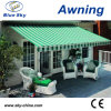 High Quality Retractable Polycarbonate Awnings B1200