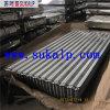 Feuille ondulée de toiture d'acier inoxydable