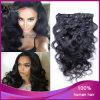 Corpo Wave 1b# Virgin brasiliano Hair Clip in Hair Extension