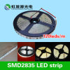 el 120LEDs/M tira flexible IP65 de 2835 SMD LED