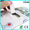 4.3 Tarjetas de LCD, pantalla LCD de la tarjeta de felicitación