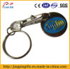Supermarket su ordinazione Trolley Token Key Chain con Coin Holder