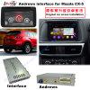 차 Mazda Cx 5 의 향상 접촉 항법, WiFi, Bt, Mirrorlink, HD 1080P 의 Google 지도, 실행 Stor를 위한 인조 인간 항법 공용영역