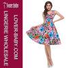 Платье сбор винограда конькобежца одежды женщины (L36115-3)