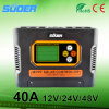 Suoer 12V 24V 48V 40A MPPTの太陽料金のコントローラの太陽コントローラ(SON-MPPT-40A)