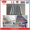 Plaque en aluminium ondulée perforée pour le toit/matériau de plafond