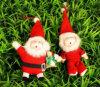 Peluche di vendita calda Keychain di natale nella figura della Santa