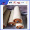 A través del HDPE de nylon del portador o de los rulos de plástico
