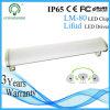 Indicatore luminoso lineare di alluminio della Tri-Prova LED del blocco per grafici IP65 2FT 60cm