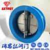 Válvula de verificação dupla do balanço da bolacha do API do aço inoxidável do disco (H76)