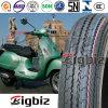 Tubos de pneus da motocicleta do tipo da cruz 3.00-19